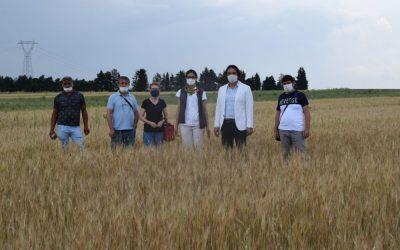 Organik Tarım Uygulamalarımızı İlçe Tarım Yetkilileriyle Paylaştık